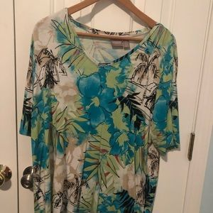 Chico's, Soft, pull over shirt size 3